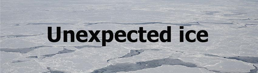 Unexpected ice header