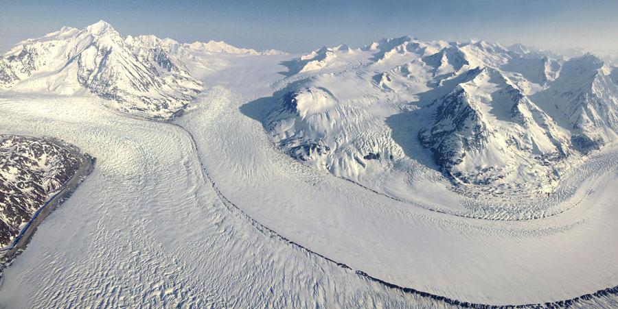 Photograph of Knik Glacier, Alaska