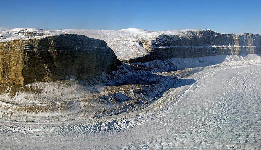 Photograph of Steensby Glacier, Greenland
