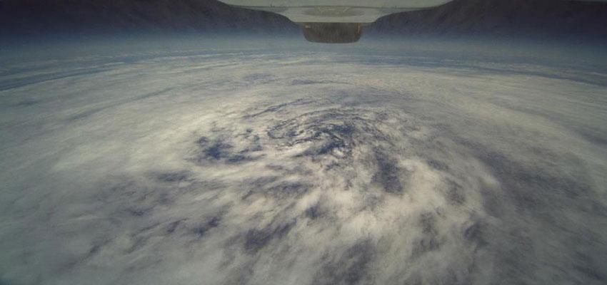 Photograph of Hurricane Frank