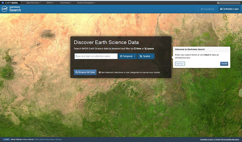 Earthdata search Webinar