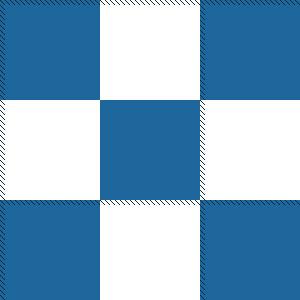 300 pixel x 300 pixel square