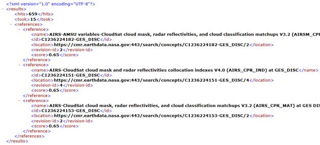 CMR API 2