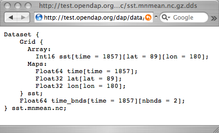 OPeNDAP API 3